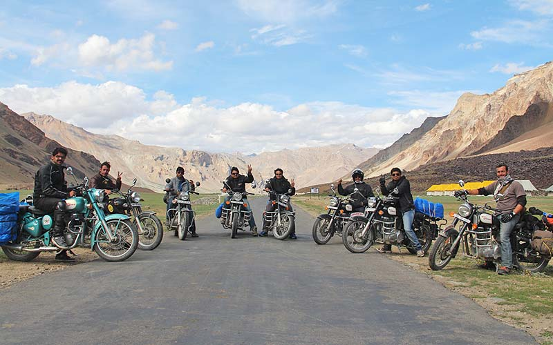 The Great Himalayan Challenge Motorcycle Tour