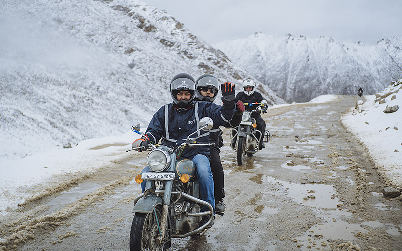 Manali Leh Fixed Group Motorcycle Tour
