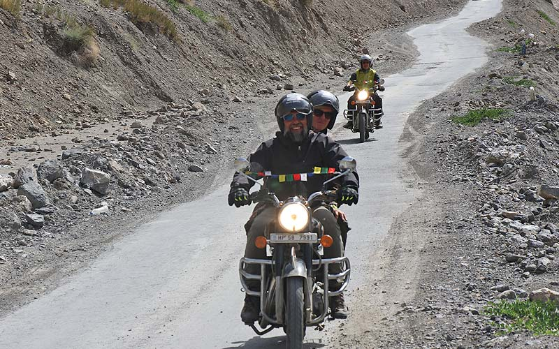 Kinnaur Spiti Fixed Group Motorcycle Tour